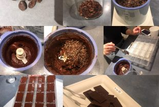 カカオ豆から手作りチョコレート