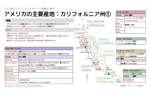 【2021年】アメリカ America ソムリエ・ワインエキスパート試験